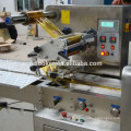 Fully automatic horizontal flow wrapping machine