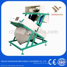 Arroz Maíz japonica grano máquina de clasificación de color con CCD cámara clasificador de color
