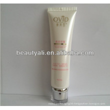 offset printing cosmetic tube with acrylic cap