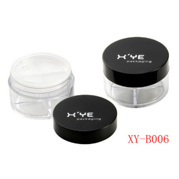 Round Shape Cosmetics Loose Powder Jars