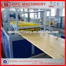Máquina de painel de porta de PVC com laminação de madeira