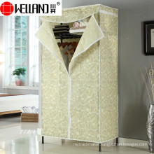 Modern Design Bedroom Furniture Assemble Non-Woven Fabric Wardrobe