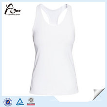 Custom Logo Woman White Tank Top From China Manufacturer