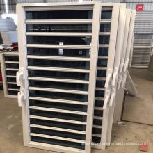 Customized beautiful design aluminum glass louver  window