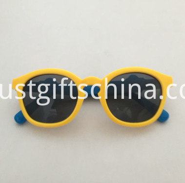 Promotional Kids Elastic Cartoon Dog Sunglasses