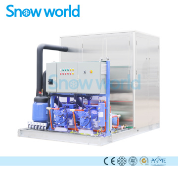 Snow world 5T Machine à glace en plaque Australie
