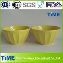 Tazón de cerámica de alta calidad del uso del cereal de 5.5inch