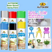 Water Soluble Spray Paint, Water Based Aerosol Paint, Multi-Purpose Spray Paint, Acrylic Spray Paint, Environmentally Friendly, Lead Free