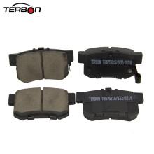 Almohadillas de freno de cerámica auto de alta calidad de la fábrica de China