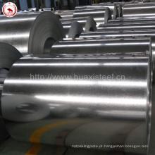 Square Tube Steel Usado DX51D Z80 Aço Galvanizado Zn-revestimento Aço De Jiangyin Mill