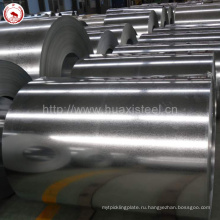 Квадратная стальная труба DX51D Z80 Сталь оцинкованная Zn-покрытием Сталь от Jiangyin Mill