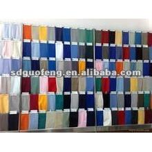 tela de algodón spandex 40X40 + 40D 133x72 para la fábrica de prendas de vestir de Vietnam