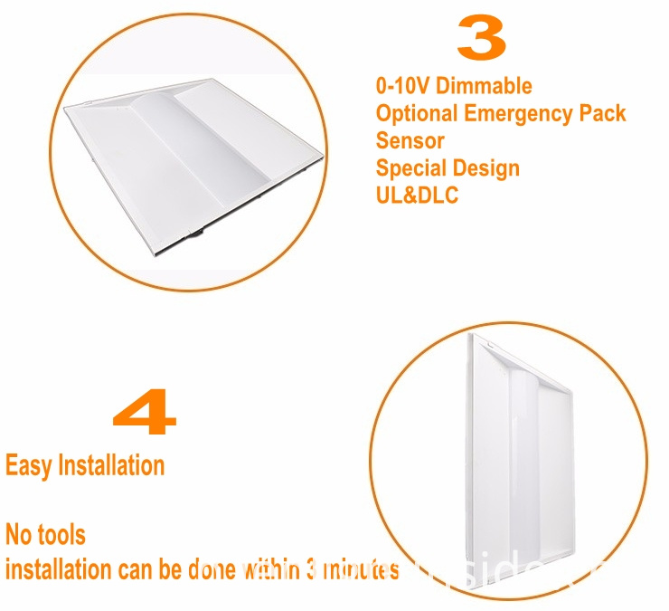 2-LED Panel Lighting