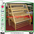 Wooden Revolving T-Shirt Merchandiser Display