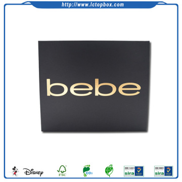 Rigid Paper Box for Packaging Shoes