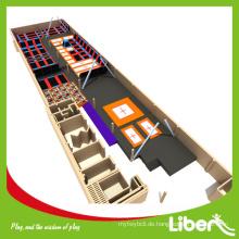 2015 Top-Selling Commercial Sports Indoor Günstige Trampolin Park Fitness Spielplatz Für Verkauf Von China Markt Hersteller