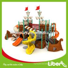 Piratenschiff LLDPE Spielplatz Sets, Corsair Kinder Outdoor Kunststoff Spielplatz Ausrüstung