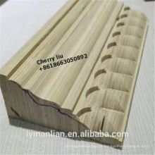 Holzrekonstruktionsformteil Kiefernholz-Türrahmenformteil