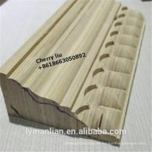 moldura de madera reconstituida marco de puerta de madera de pino moldura
