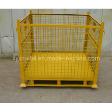 Stackable Roll Storage Rack Folding Stacking Stillage