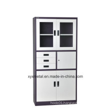 Three Slides Steel High Quality Elegant and Comfortable Office Rattan File Cabinet