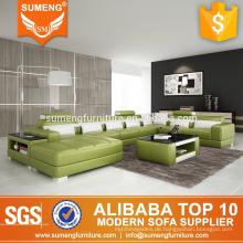 Sexy U Form Extra 7 Sitzer Wohnzimmer Sofa mit Kissen