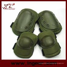 Airsoft protector almohadillas sistemas tácticos codo rodilleras para juego de Paintball