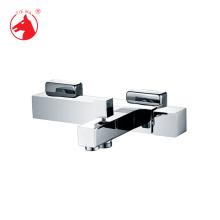 Misturador para banheira de manípulo único de chão estilo moderno