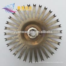 Электролитическая анодированная титановая дисковая стойка