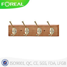 Wall Mounted Foldable Wooden Coat Hooks