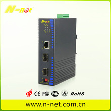 Customized for Industrial Gigabit Ethernet Switch Gigabit POE switch with one fiber supply to United States Suppliers