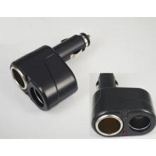 Dual Car Cigar Cigarette Lighter Socket Adapter Charger Two Ports Plug Socket