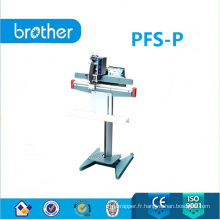 Machine de scellage de pédale avec modèle d'imprimante