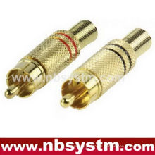 RCA jack metal with spring ID 5.8mm