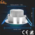 3W 5W de ahorro de energía de luz de techo LED Downlight