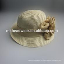 Оптовые дамы дешевые соломенной шляпе
