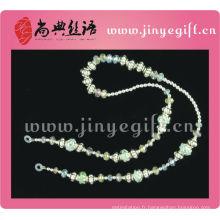 Bijoux américains en gros unique perles perlé cordon
