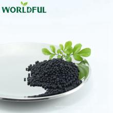 Aminosäure glänzender schwarzer Ball mit NPK 16-0-1 landwirtschaftlichem organischem Düngemittel