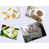 2015 hot selling knife-cut steamed bread making Machine