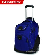 Hight qualité ordinateur portable chariot sac sac de voyage chariot adolescent avec roues (ESV244)