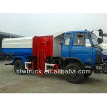 Dongfeng 145 12CBM bin lifter garbage truck
