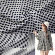 Nuevos productos jacquard tejido de algodón spandex de punto