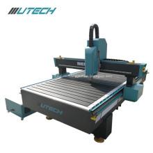 Cnc-Fräsermaschine der quadratischen Schiene der Holzbearbeitung 3d schnitzend