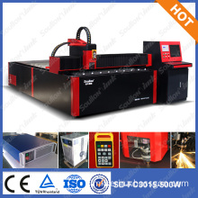 soullon laser:FC-3015 500W metal laser cut nameplate machine / laser cutting machine for nameplate