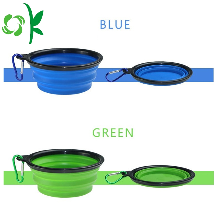 Green Silicone Bowl