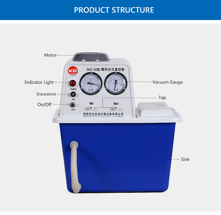 High Vacuum Degree Oilless Electric Suction Pump