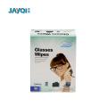 Toallitas húmedas limpias con lentes individuales