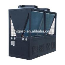 Permutador de calor do calefator de água da bomba de calor da piscina da eficiência elevada até 70kw para o anúncio publicitário usado