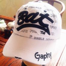 Gewaschener Druck-Baumwollzwillings-Sport-Golf-Baseballmütze