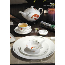 A047 Fine bone china wholesale porcelain tableware set